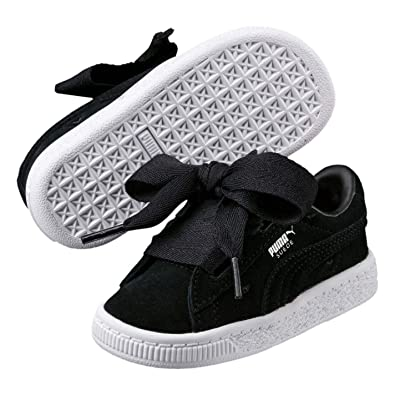 newest dd4c2 669ce Amazon.com: Puma Suede Valentine Sneakers Girls Shoes ...