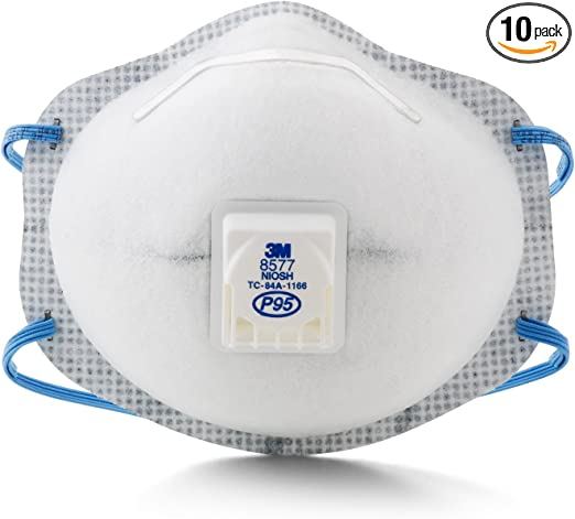 Vapor Particulate P95 8577 Level 3m Nuisance With Relief Respirator Organic