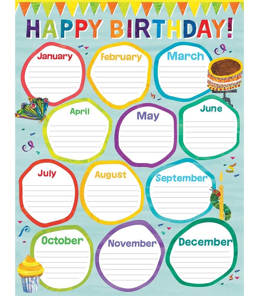 World of Eric Carletm Birthday Chart  Carson Dellosa Education ...