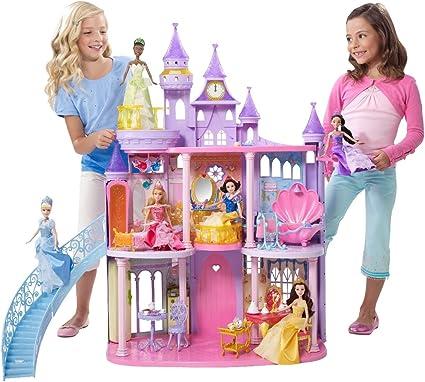 Barbie Size Disney Princess Castle Dollhouse  Doll House pillars   2