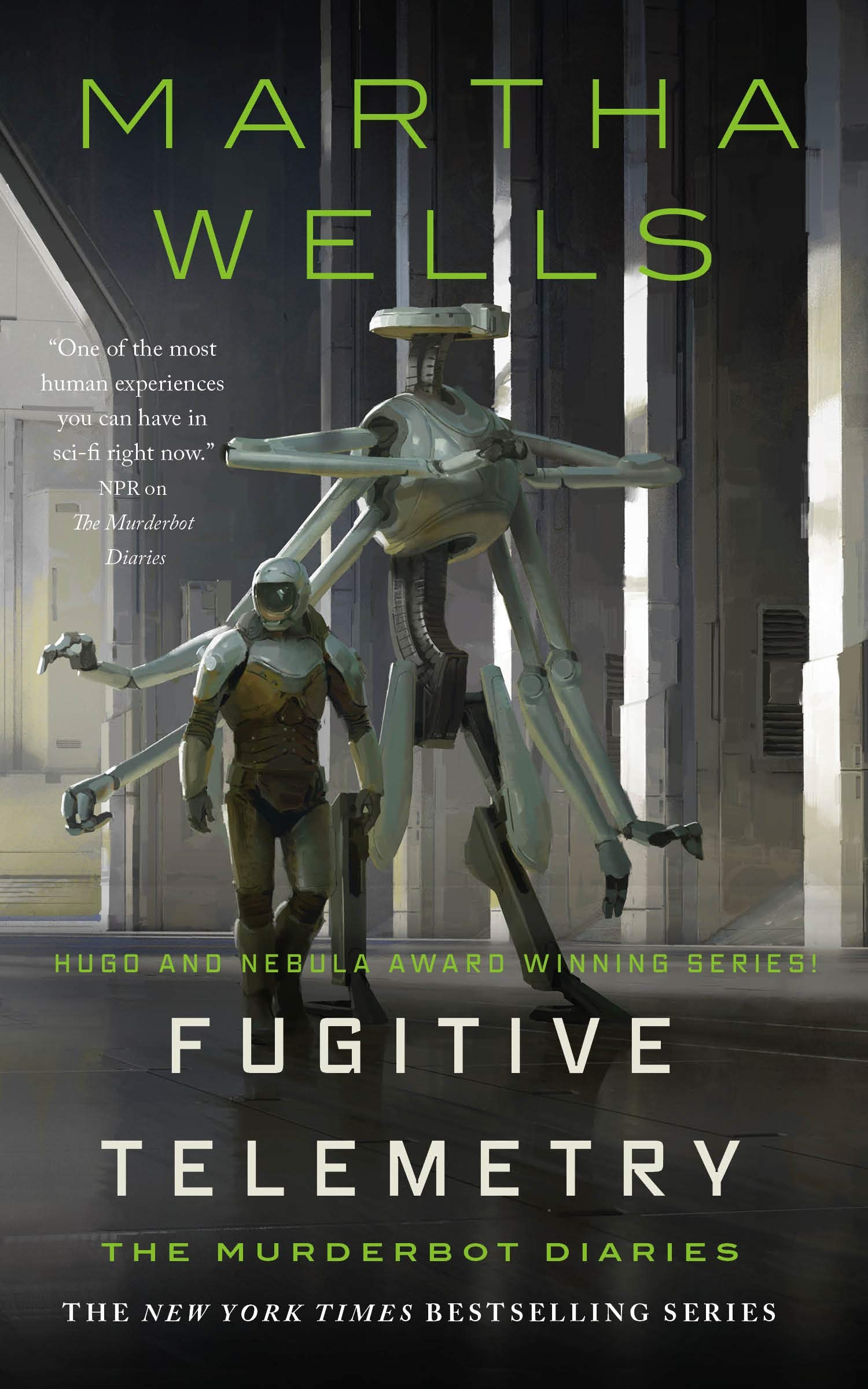 Fugitive Telemetry (The Murderbot Diaries, 6): Wells, Martha:  9781250765376: Amazon.com: Books