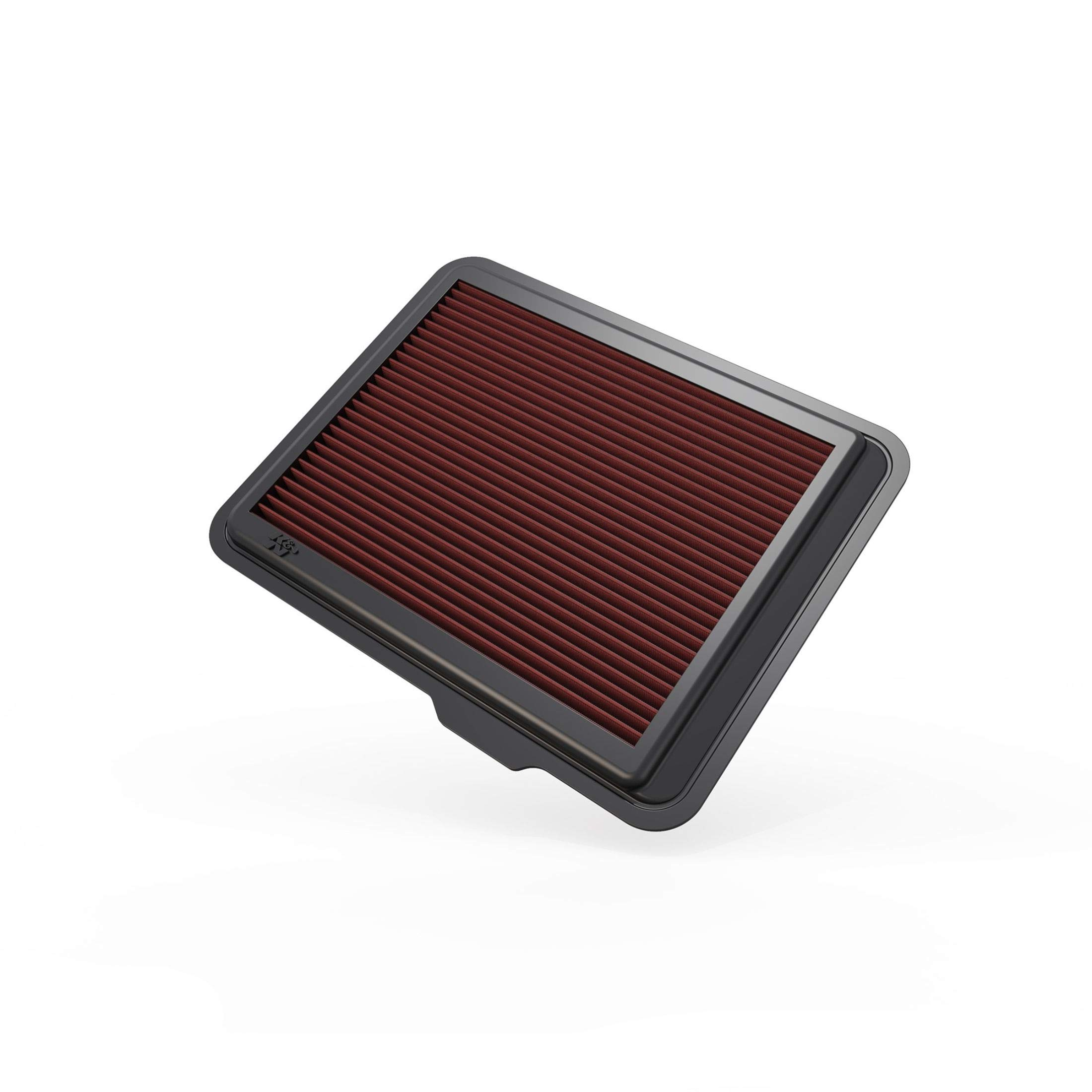 K&N Engine Air Filter: High Performance, Premium, Washable, Replacement Filter: Fits 2008-2012 Chevy/GMC/Hummer Truck and SUV (Colorado, Canyon, H3, H3T), 33-2408