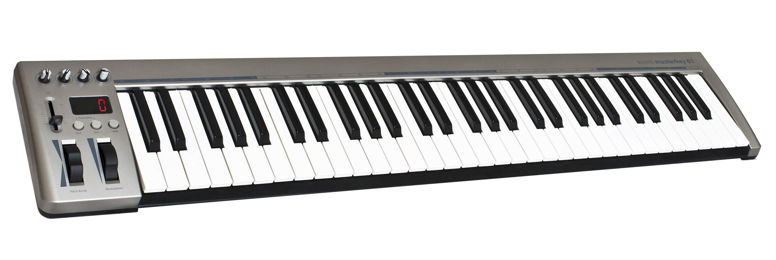 Acorn MIDI Controller Keyboard, 10.24 x 4.33 x 39.96 inches (Masterkey 61) by Acorn