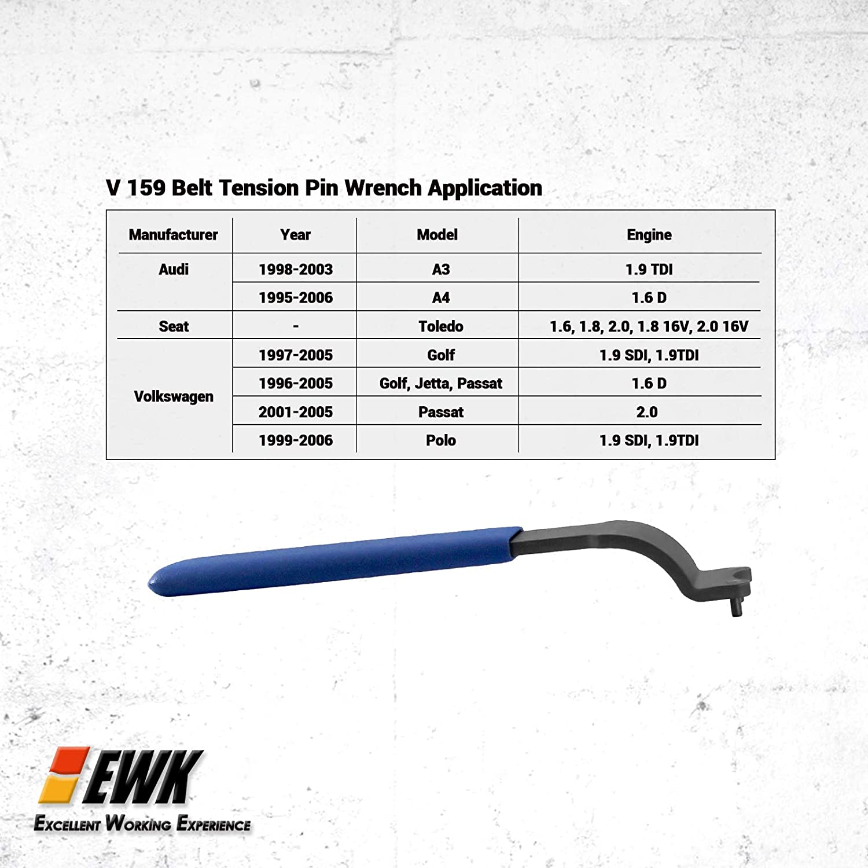 Amazon.com: EWK Diesel Engine Timing Tools Set Tool Kit for VW Audi Volvo: Automotive