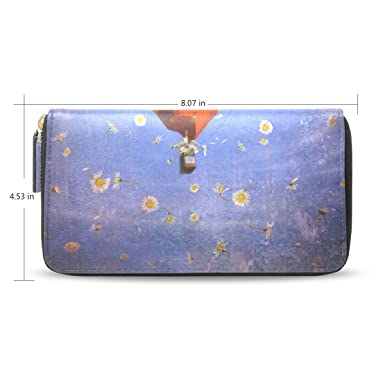 eb2b9f7bf53d Amazon.com: imobaby Women's Long Leather New Hot Air Balloon ...