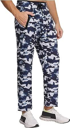 Akalnny Pantalones Hombre Casuales Deporte Elásticos Suelto Joggers Largos Pants con Bolsillos Adecuado para Trotar, Deportes, Fitness