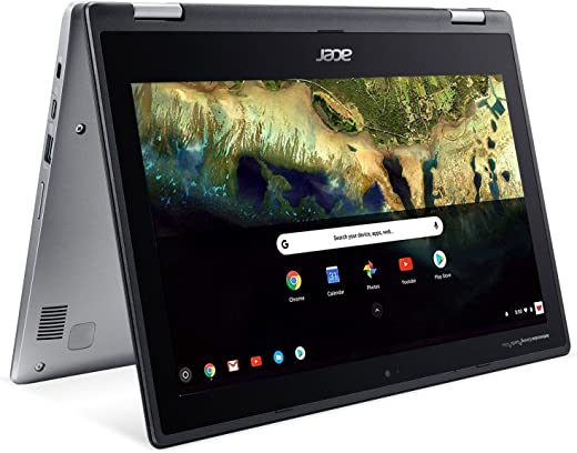 """Acer Chromebook Spin 11 CP311-1H-C5PN Convertible Laptop, Celeron N3350, 11.6"""" HD Touch, 4GB DDR4, 32GB eMMC, Google Chrome"""