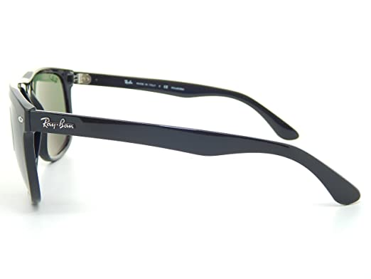 8353e2d31a Amazon.com  Ray Ban RB4147 601 58 Black Green Classic G-15 60mm Polarized  Sunglasses  Clothing