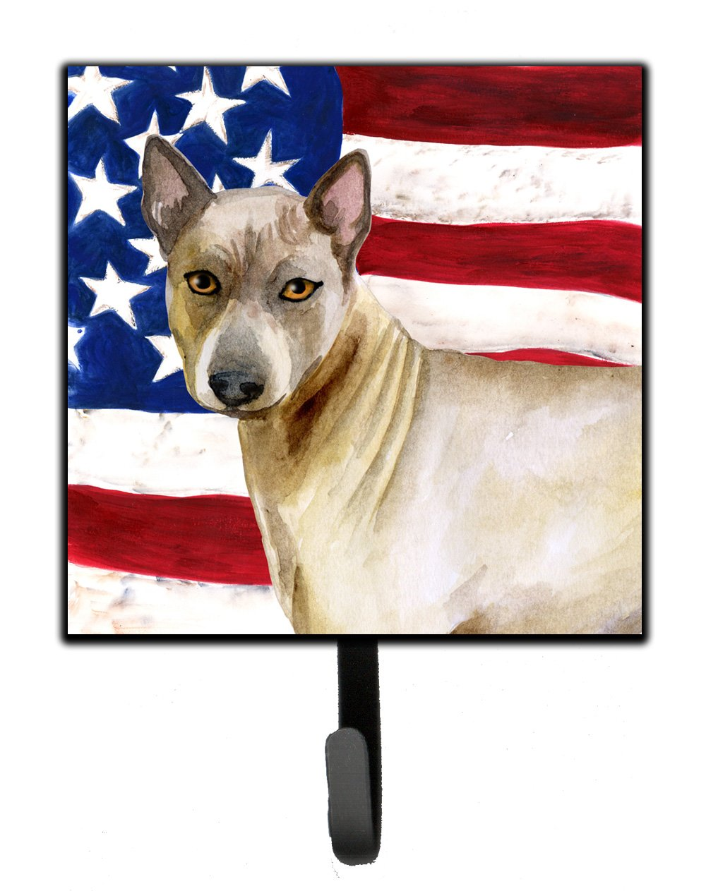 Caroline's Treasures Thai Ridgeback Patriotic Wall Hook, Small, Multicolor by Caroline's Treasures