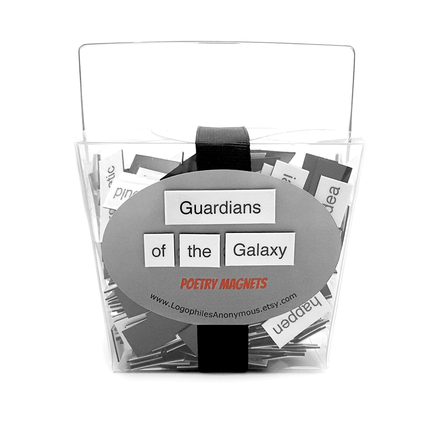 Guardians of the Galaxy Poetry Magnet Set Refrigerator Poetry Word Magnets