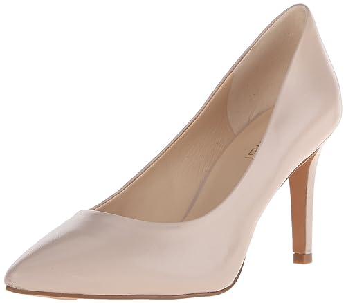 Crema Nine Zapatos West es Amazon Mujer Charly Nuevo Piel Tacones grxtqrTw
