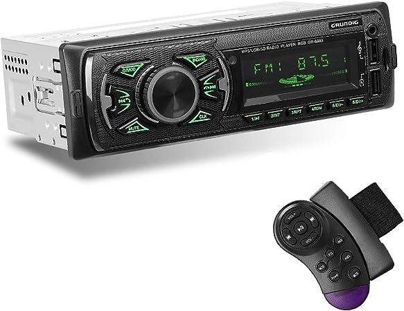 Grundig Autoradio Mit Bluetooth Freisprecheinrichtung Elektronik