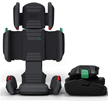 Hifold fit-and-fold high back booster seat - Best Adjustment System