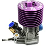 Novarossi Rex Legend 28 Truggy 8-Port Engine Turbo Plug (Steel Bearings)
