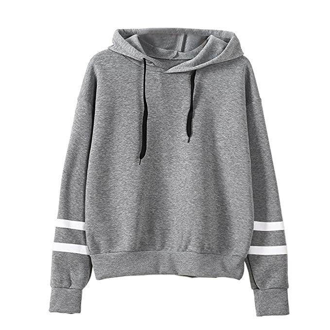 cheap for discount 3f72a 725e0 KEERADS Damen Langarmshirt Sweatshirt Pullover, 9 Arten von Mode-Stile  optional, XS-XXXL