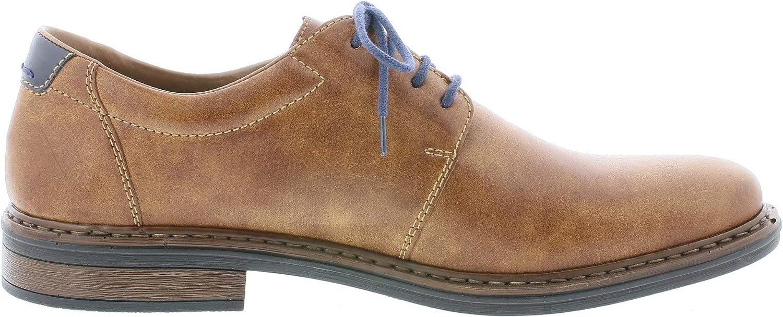 Men/´s Business Shoes Rieker Men Lace-Up Flats 17619