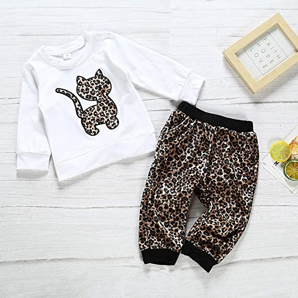 0-4 Years,SO-buts Toddler Kids Baby Boy Girl Fall Winter Cartoon Cute Striped T Shirt Suspender Pants Trousers Outfits Set