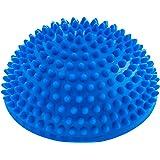 Balance-Kugel »Igel« zur Steigerung der Balance / Koordination. Ideal für Balance-Training 320g zirka 8cm hoch und 16cm Durchmesser in blau, rot, türkis oder schwarz.