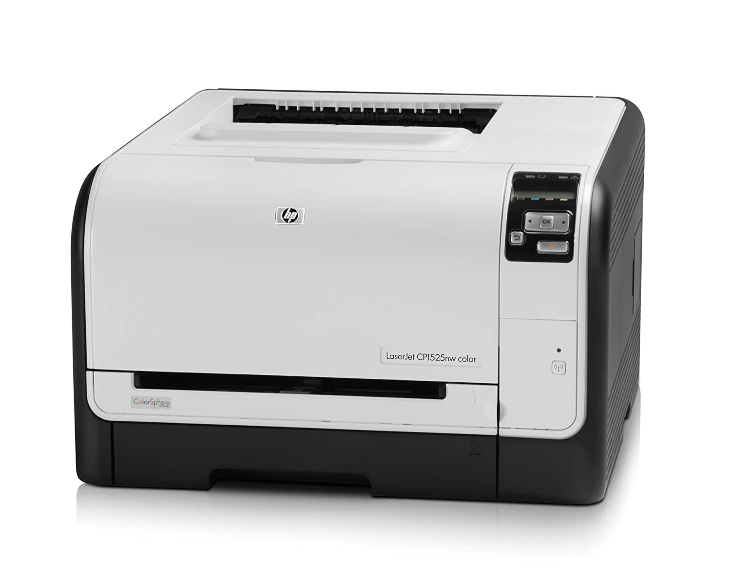 HP LaserJet Pro Color CP1525nw - Impresora láser color (12 ppm, A4)