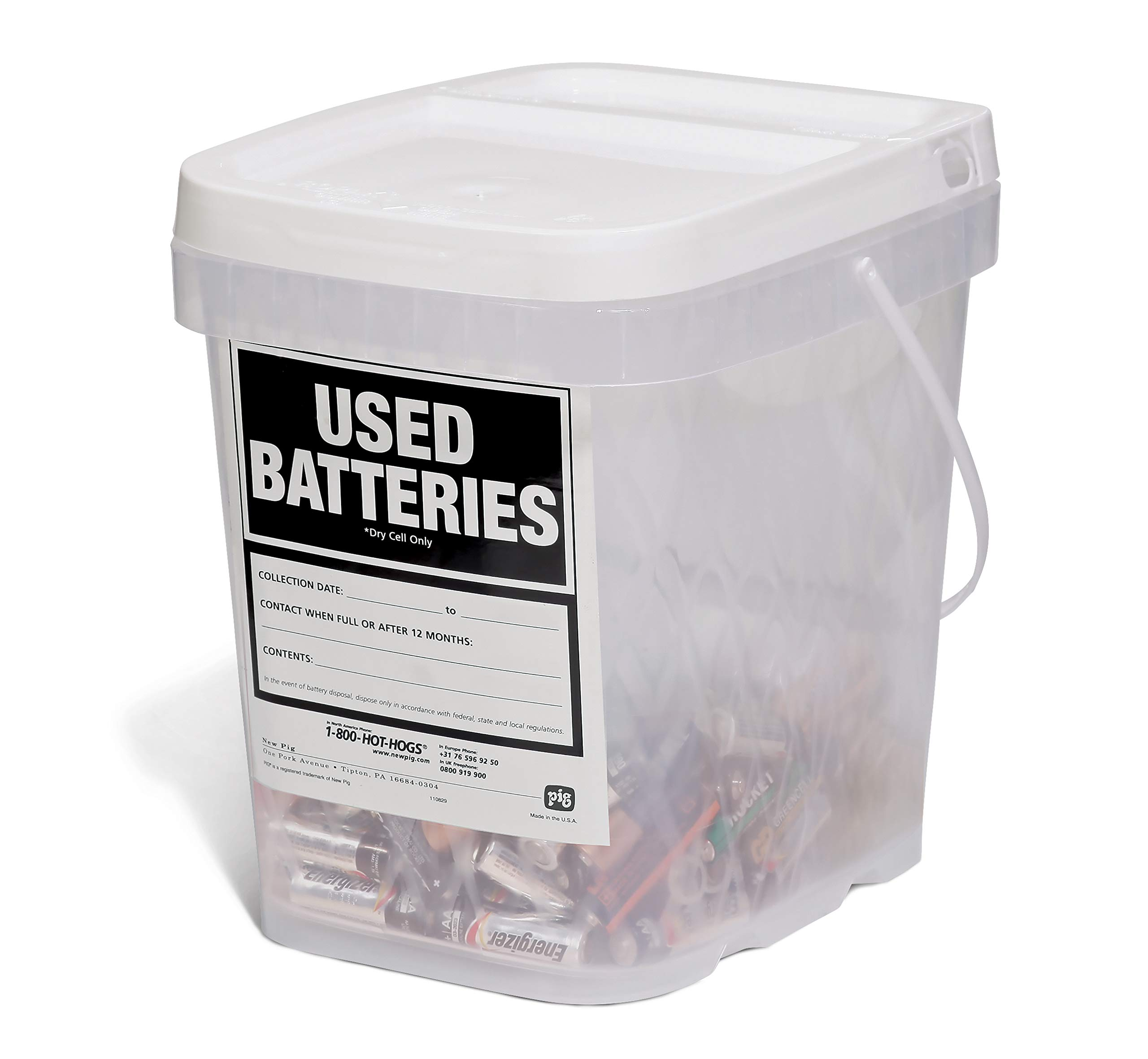 Used Battery Container by New Pig 2-Pack