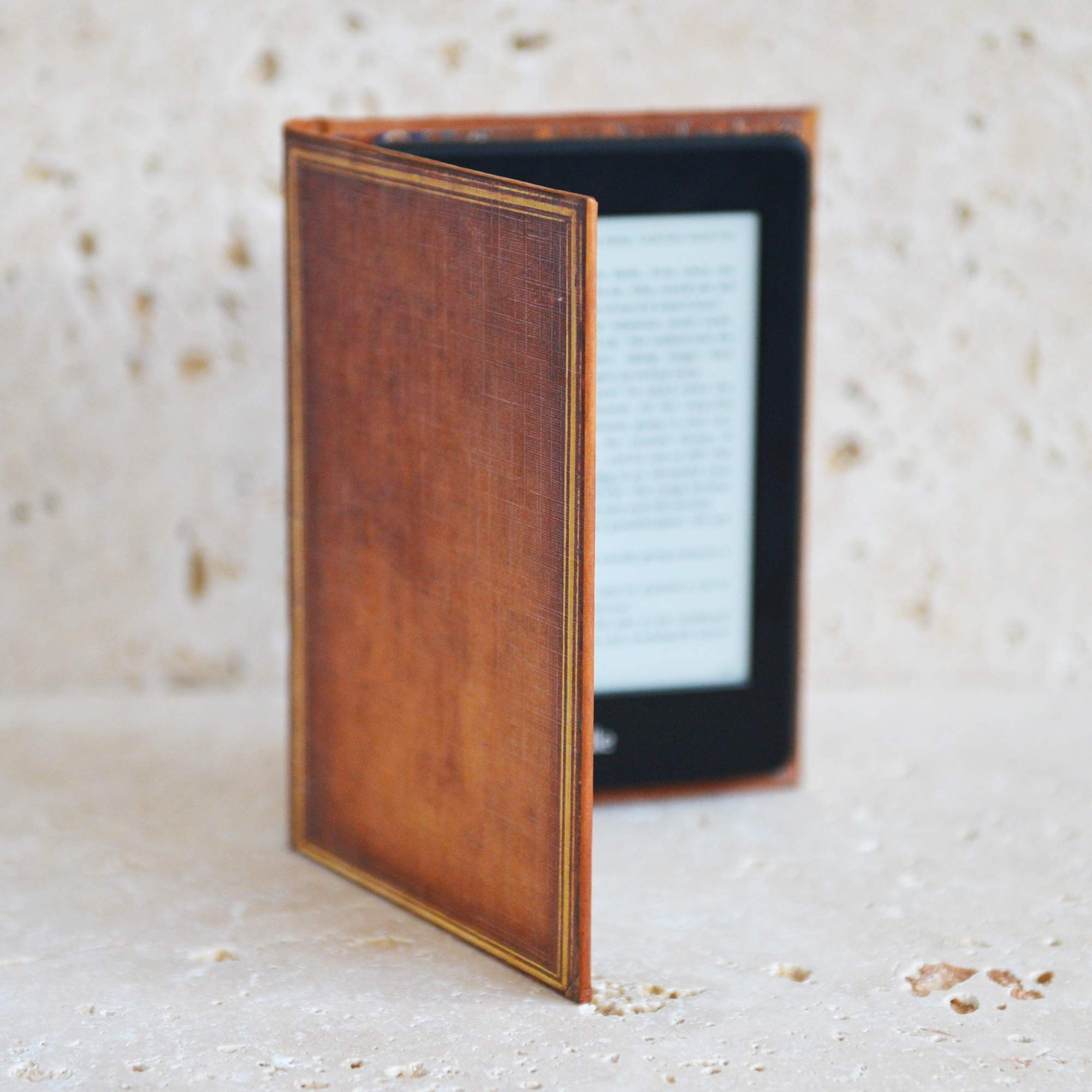 Kindle Paperwhite Case (inc All New Versions) Book Cover Style (My Book)