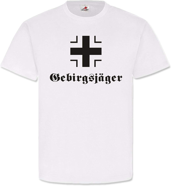 Haz Cruz Ejército Montaña Cazadores de hierro, Cruz hoheit caracteres Alemán – Camiseta # 489: Amazon.es: Ropa y accesorios