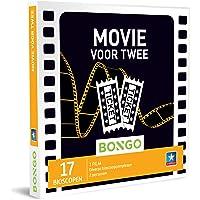 Bongo Bon - Movie voor Twee   Cadeaubonnen Cadeaukaart cadeau voor man of vrouw   17 bioscopen