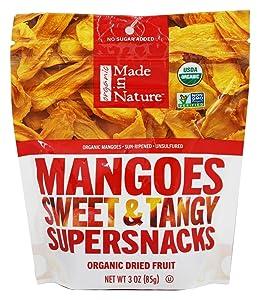 Made In Nature Dried Mango, 3 Ounce - 12 per case.