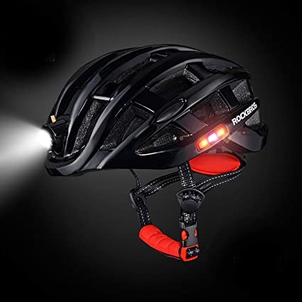 9 Taillight Modes MTB Ultralight Helmet Bicycle Bike Light Cycling Road Sport