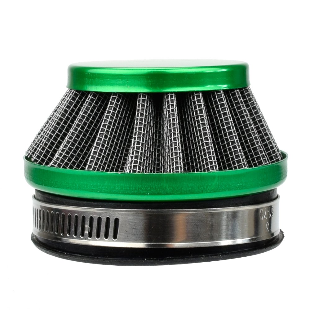 HIAORS 58mm Air Filter for Dellorto SHA Carb Carburetor Tomos A35 Minarelli Puch Moped 47cc 49cc Mini Pocket Dirt Bike