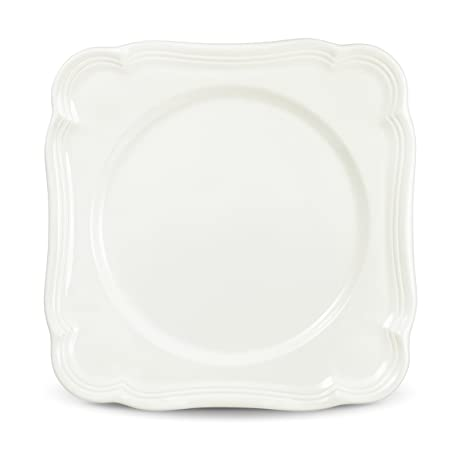 Mikasa French Countryside Square Salad Plate  sc 1 st  Amazon.com & Amazon.com | Mikasa French Countryside Square Salad Plate: Salad Plates