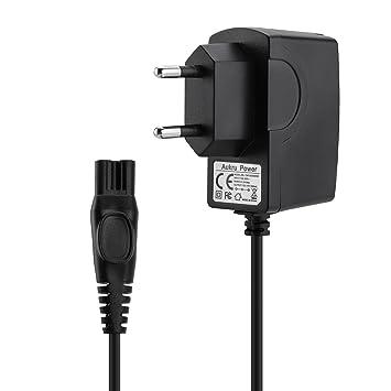 Aukru - Cargador para afeitadora Philips AquaTouch serie PT (15 V, 500 mA, apto para modelos AT750, AT751, AT752, AT753, AT890, AT890, AT891, AT893, ...