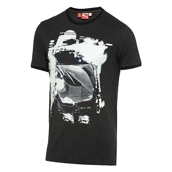 505760795 Puma Ferrari para Hombre Graphic de Manga Corta Camisas