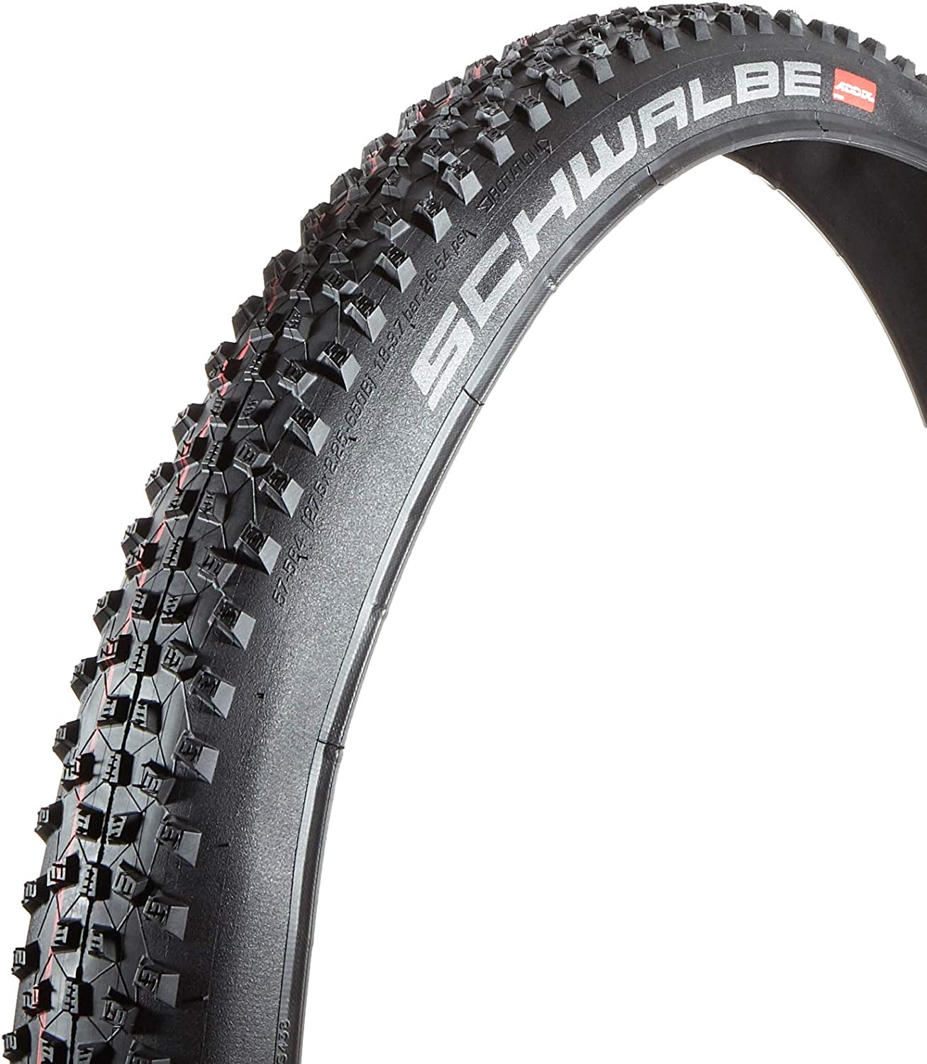 New Schwalbe Racing Ralph Liteskin Tire 29 x 2.25 EVO Folding Bead Black w//Addix