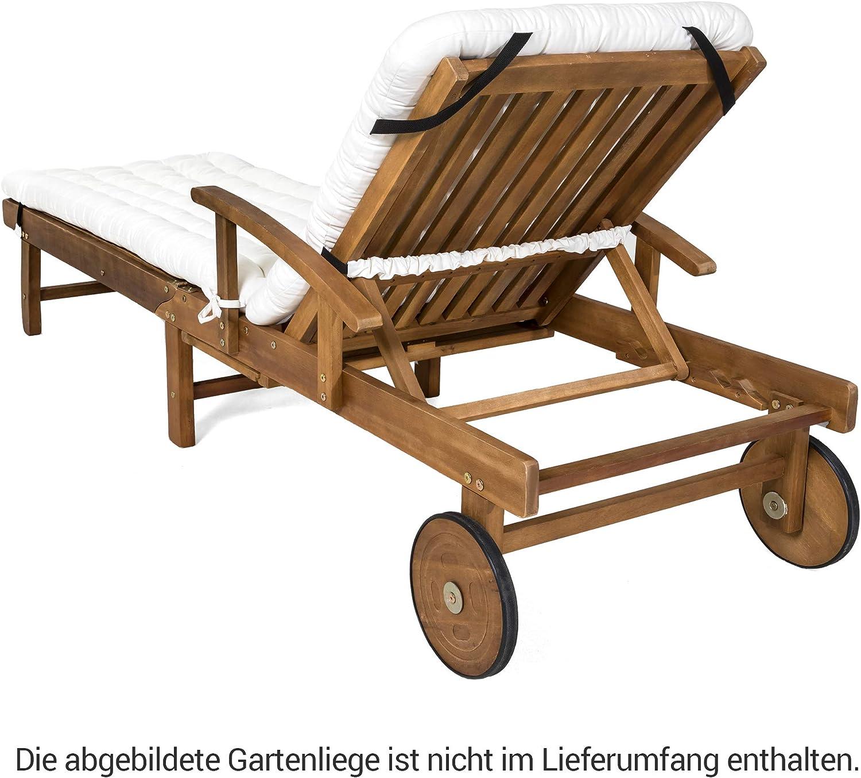 Cuscino per sdraio da giardino HAVE A SEAT 200 x 60 x 8 cm