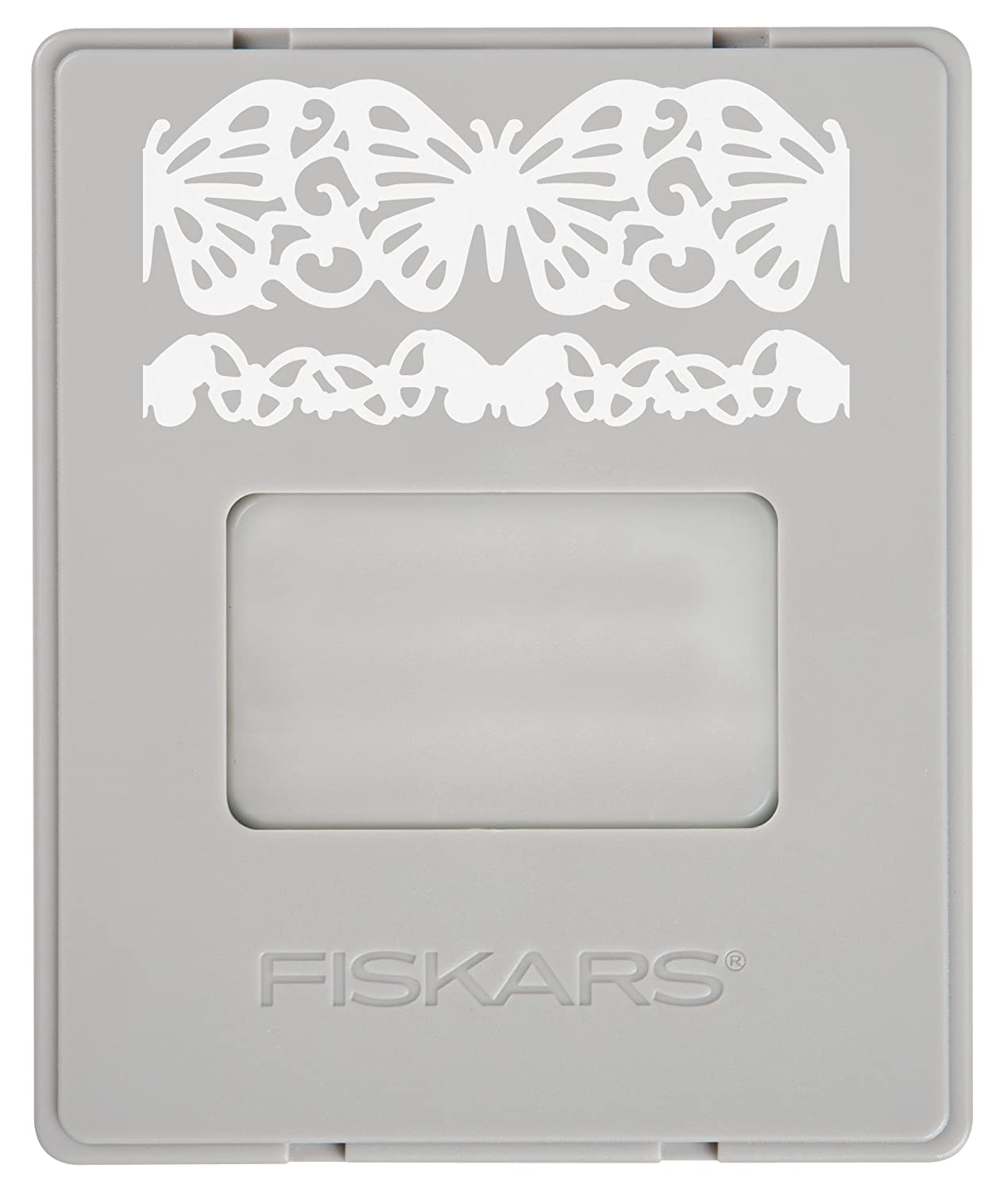 Fiskars AdvantEdge Butterfly Lace Border Punch Cartridge (101730-1001)