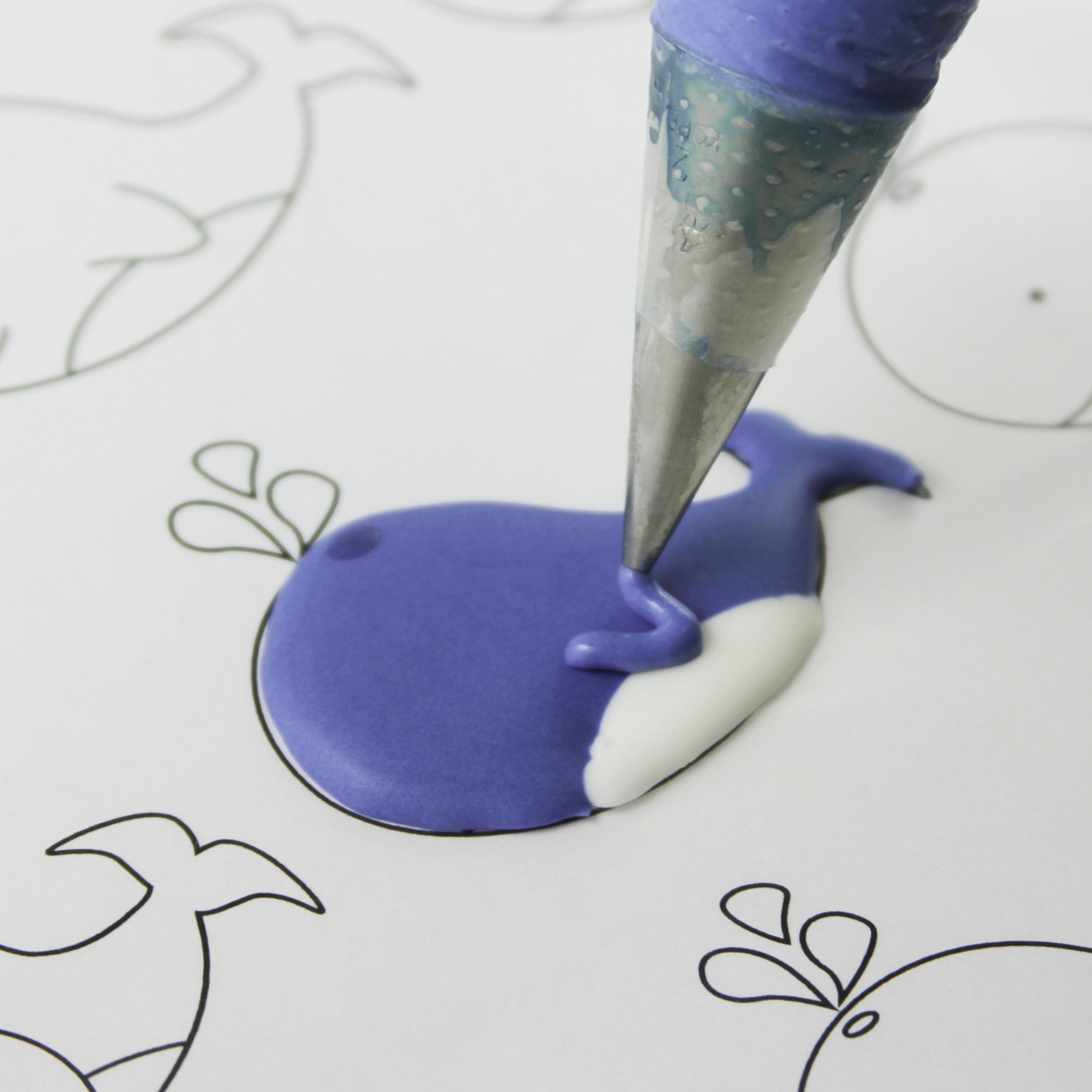 Under the Sea Pattern Sheets for Royal Icing, Chocolate, and Rolled Fondant