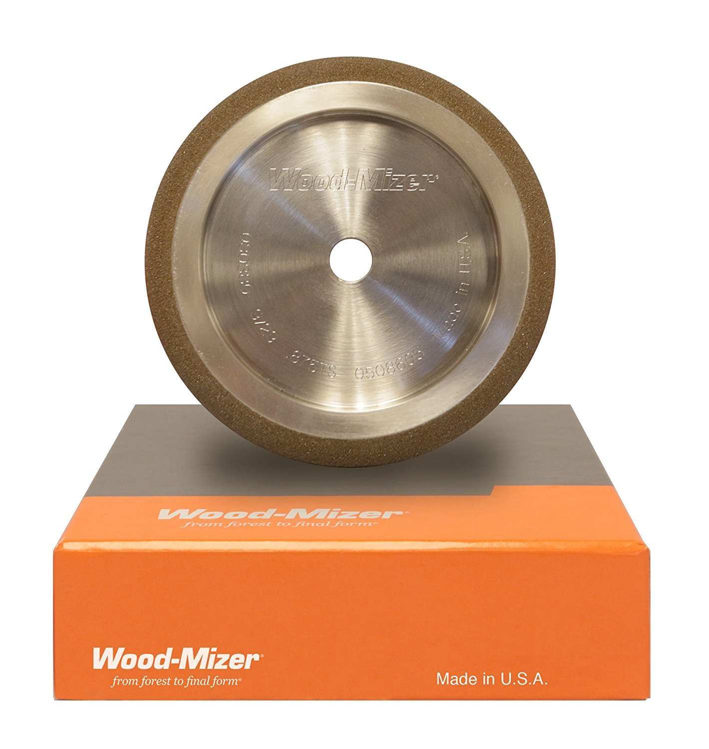 Wood-Mizer 5'' CBN Grinding Wheel 1/2'' Tooth Spacing 10/30 Angle by Wood-Mizer