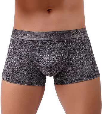 Lightning Deals Mens Underwear,Sexy Soft Cotton Breathable Bulge Pouch Boxer Briefs Trunks Underpants