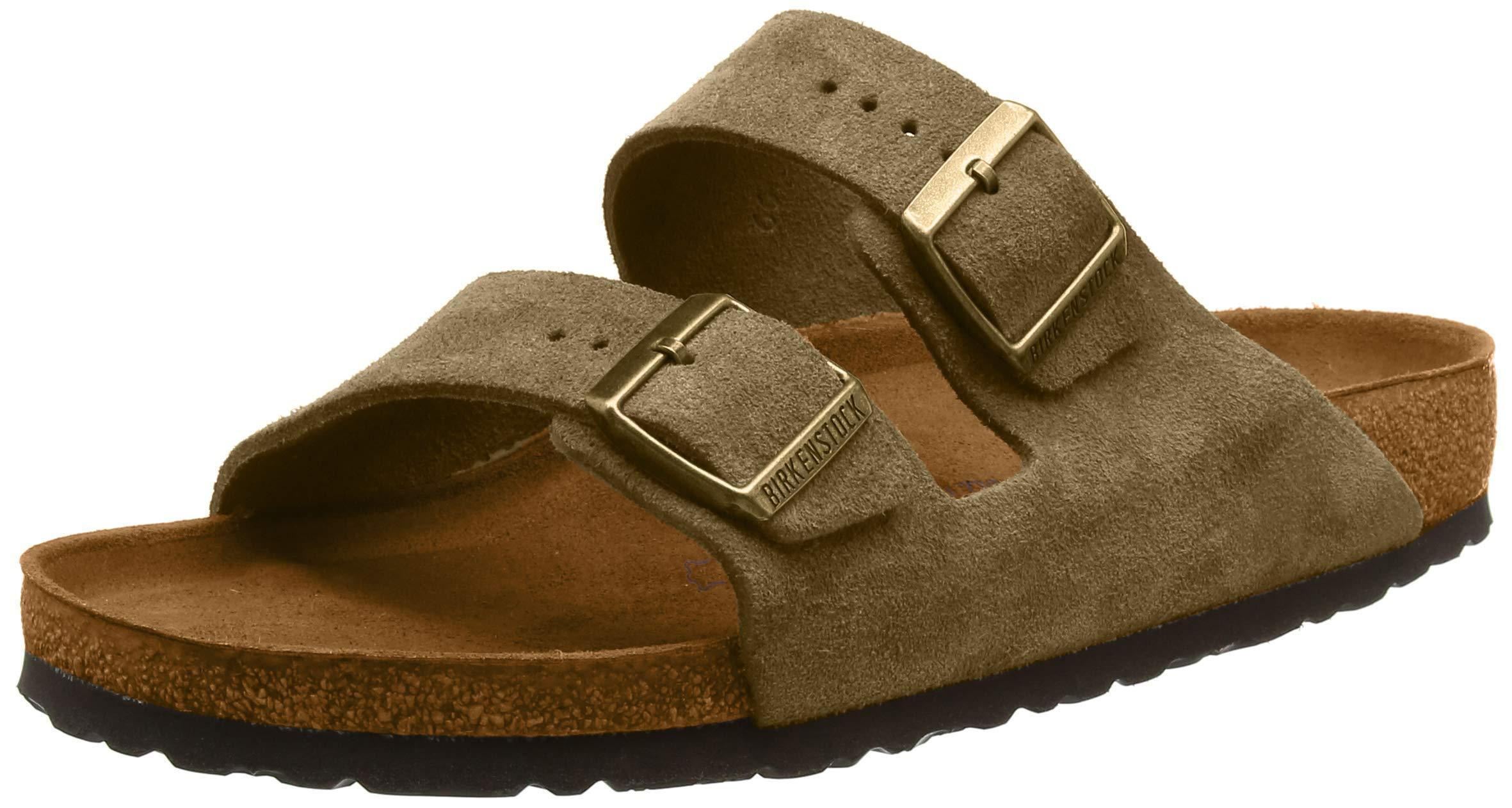 0e96da2dd Galleon - Birkenstock Unisex Arizona Suede Forest Sandals 8 W / 6 M US