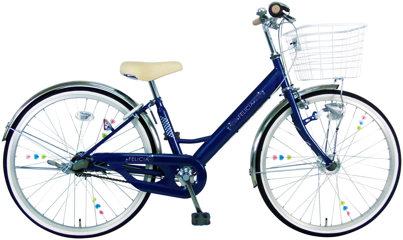 C.Dream(シードリーム) フェリシア 3段変速付 V43-H 24インチ 子供自転車 ネイビー 100%組立済み発送   B01FDJRWEE