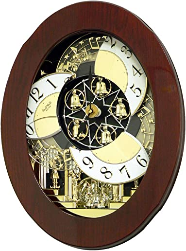 Rhythm Clocks Grand Nostalgia Entertainer Magical Motion Clock