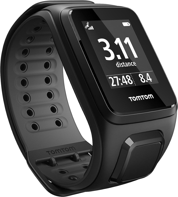 TomTom Runner2 - Reloj deportivo, color negro / gris, talla S (121 ...