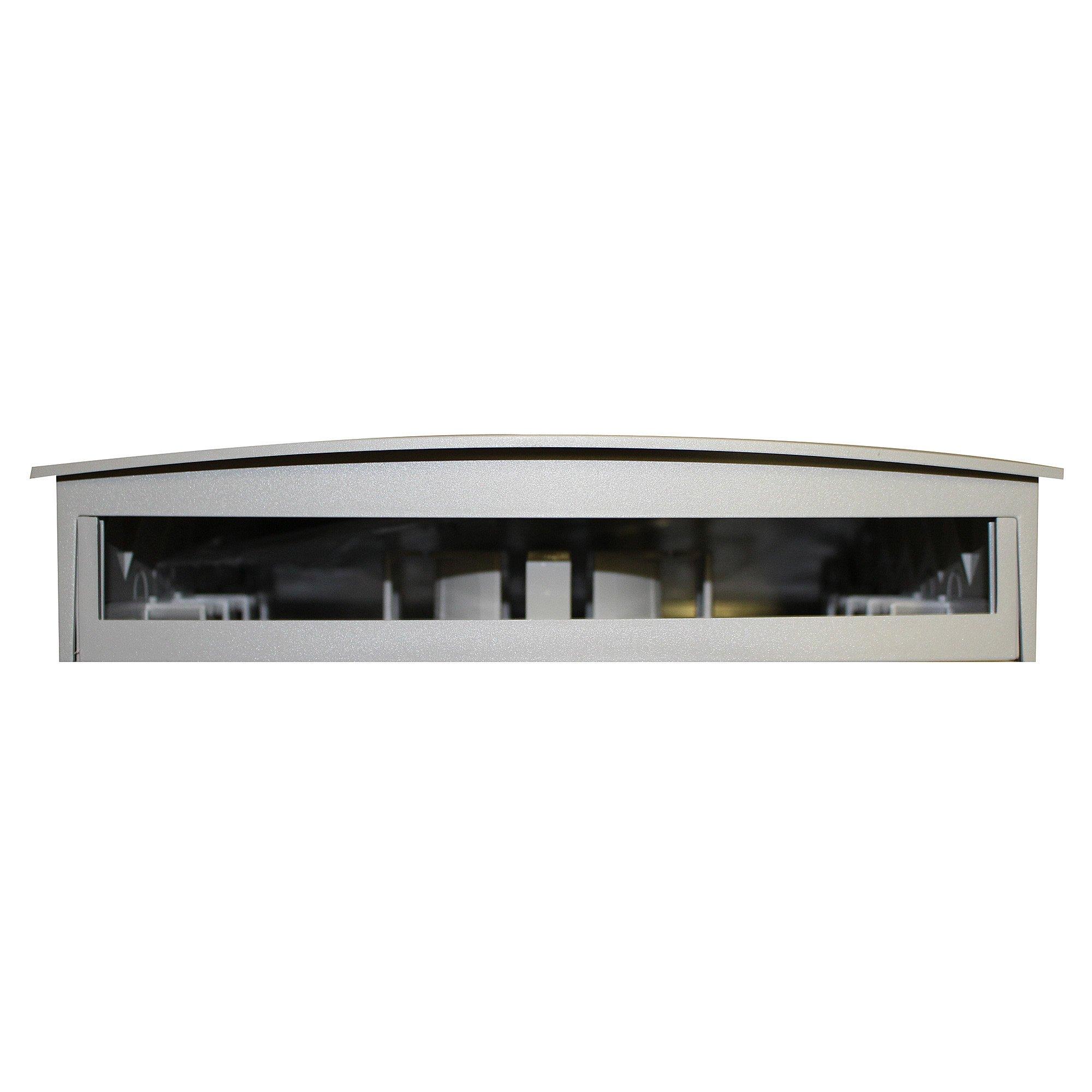 Belden AX100219 MDVO Multi Media Outlet Box, 24 Port, Gray Finish
