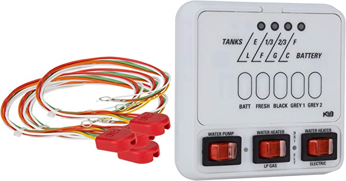 [DIAGRAM_5LK]  Amazon.com: RV Tank Sensor Monitor Panel M25 | KIB Replacement | Panel Only  | Level Sensor | Fresh Water or Holding Tank Level Sensor (White):  Automotive | Wiring Diagram Rv Tank Level Monitor |  | Amazon.com