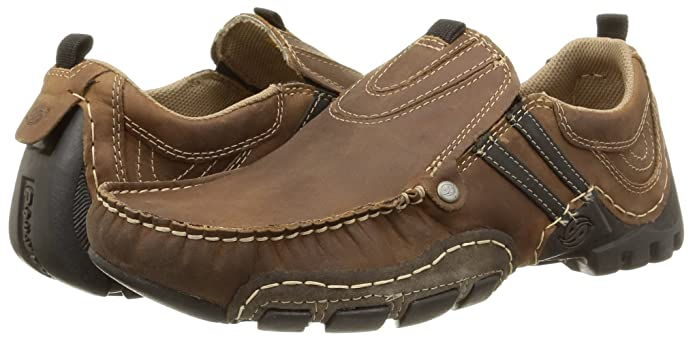 Dockers by Gerli 20AY005-400, Mocasines para Hombre, Marrón-Braun (Cafe/Schwarz 321), 47 EU: Amazon.es: Zapatos y complementos