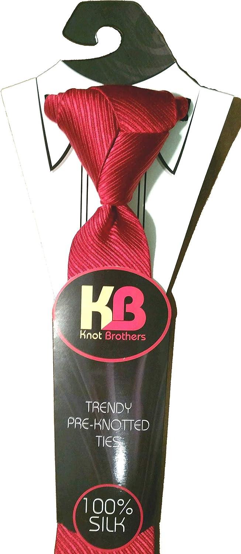 Knot Brothers nudos de corbata pre anudados Eldredge & Trinity con ...