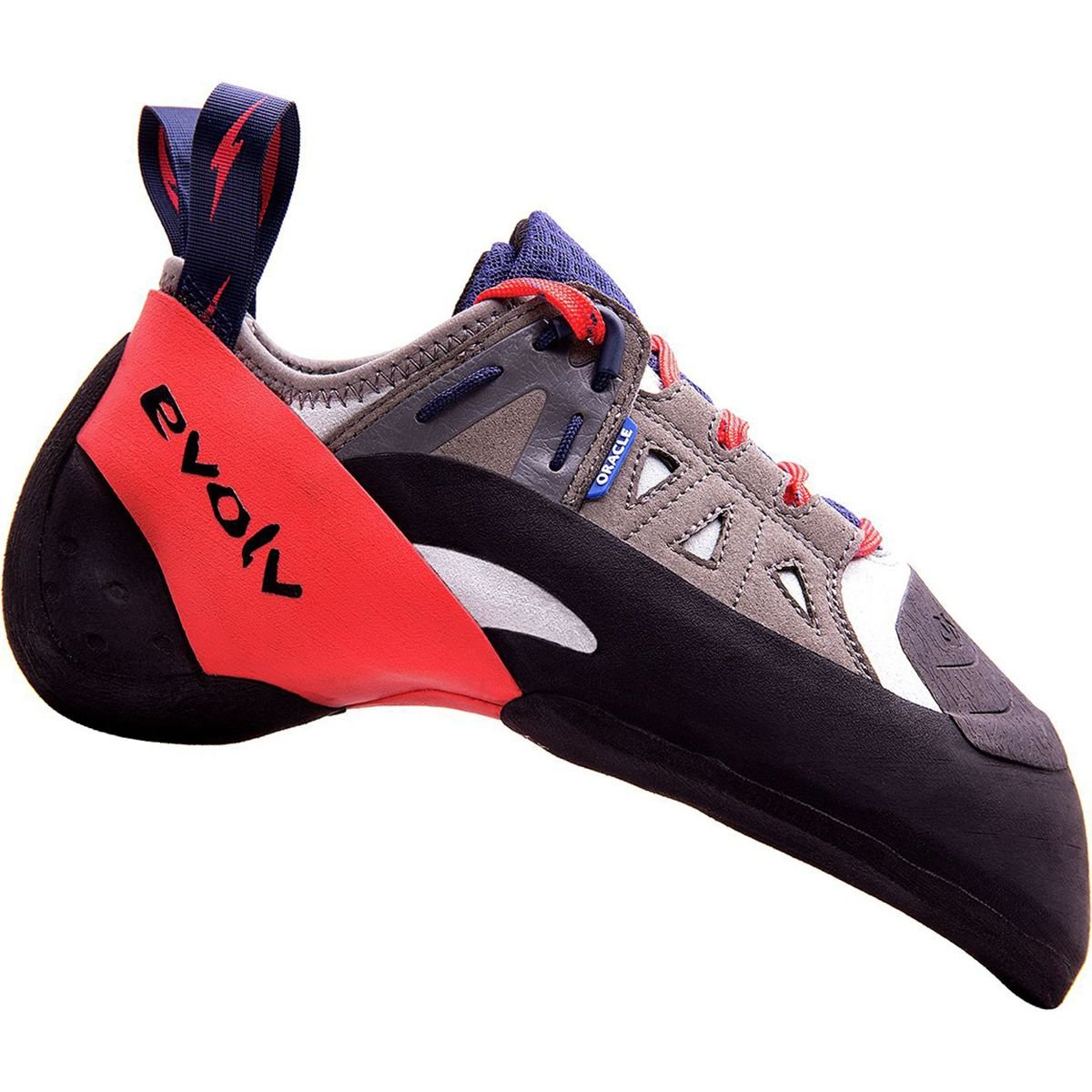 Evolv Oracle Climbing Shoe – Men 's B074W88YTB 9 D(M) US|Blue/Red/Gray Blue/Red/Gray 9 D(M) US