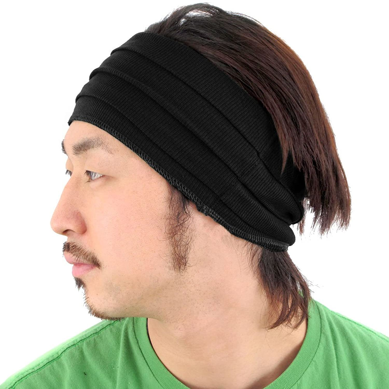 casualbox mens womens japanese fashion elastic headband sports