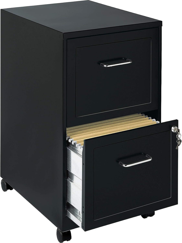 Lorell File Cabinet, Black -: Furniture & Decor